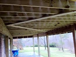 Free Standing Deck Bracing by Knee Bracing Helps Prevent Lateral Sway Professional Deck