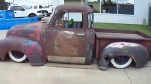 100 Truck Bed Bag 1954 Chevrolet Rat Rod Pick Up Truck Air Bags Chevy Bagged YouTube