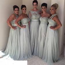 Bridesmaid Dresses Different Styles 2017 Plus Size Vintage Beach