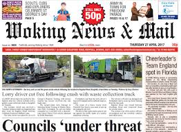 Woking News & Mail Reader Survey   Woking News And Mail