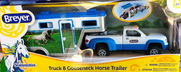BREYER STABLEMATES TRUCK And Gooseneck Trailer Horse Vehicle NEW IN ... John Deere Toys Monster Treads Pickup Hauler With Horse Trailer At Breyer Stablemates Animal Rescue Truck The Play Room 5356 Pickup And Gooseneck Ebay Giddy Up Go 701736 Dually Identify Your Accsories 132 Model By Loading Mini Whinnies Horses In Ves Car Drama At Show