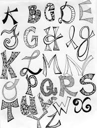 Cool Artsy Letters