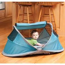 kidco p104 peapod portable travel bed ocean free shipping