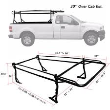 Pickup Truck Racks With Mounting Clamps | AA-Racks – AA Products Inc