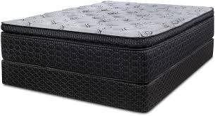 Symbol Mattress Mattresses Lotus Pillow Top Mattress Set Queen