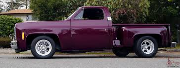 100 Stepside Trucks Chevy Custom CHOP TOP Low Rider Shortbox Pickup X