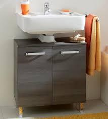 waschbeckenunterschrank in grau finden