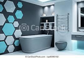 modernes beleuchtetes badezimmer moderne beleuchtete
