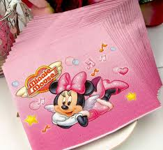 Baby Minnie Mouse Baby Shower Theme by Baby Shower Party Supplies Wholesale Minnie Mouse Napkins Tissue