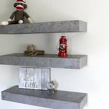 Fancy Design Custom Floating Shelves Interesting Ideas Faux Metal Add A Finish To
