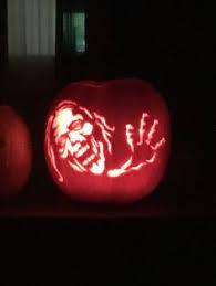 Walking Dead Pumpkin Stencils Free Printable by Happy Halloween Everybody The Walking Dead Pinterest Happy