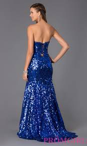 strapless sequin mermaid dress sequin gown promgirl