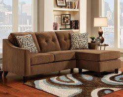 elizabeth chocolate 2 pc sectional sofa american freight home