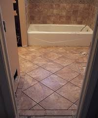 different types of bathroom floor tiles to renovate the bathroom