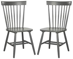 Black Dining Room Chairs Target by Safavieh Parker Spindle Dining Chair Set Of 2 Country Dining