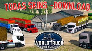 100 World Truck Simulator Driving TODAS SKINS DOWNLOAD YouTube