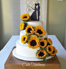 Sunflowers For A Fall Wedding