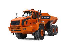 100 Dump Truck Tailgate Articulated S Doosan Infracore Europe