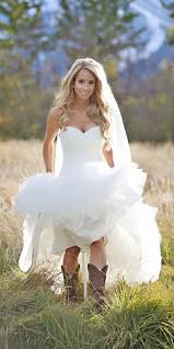 Country High Low Wedding Dresses