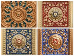 Cheap Ceiling Tiles 24x24 by Ceiling Design Beautiful Faux Tin Ceiling Tiles In Brown And