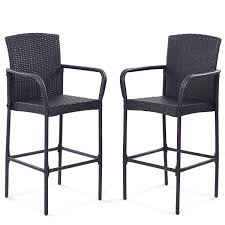 Amazon.com: NEW 2Pcs. Rattan Bar Stool Dining High Counter Chair ... Chair Overstock Patio Fniture Adirondack High Chairs With Table Grand Terrace Sling Swivel Rocker Lounge Trends Details About 2pcs Rattan Bar Stool Ding Counter Portable Garden Outdoor Rocking Lovely Back Quality Cast Alinum Oval And Buy Tables Chairsding Chairsgarden Outside Top 2 Pcs Set Household Appliances Cool Full Size Bar Stools