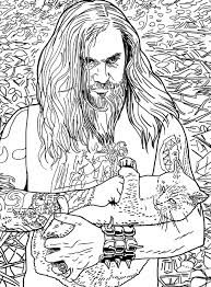 From Metals Cats And Metal Coloring Book By Alexandra Crockett Published PowerHouse Books