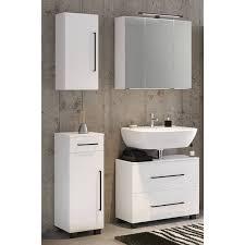badezimmer möbel set 4 teilig weiß manly 03 inkl 70cm led spiegelschr
