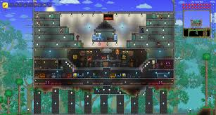 Terraria Halloween Event by Terraria Bases And Buildings