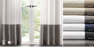 Navy And White Striped Curtains Canada by Window Drapery Rh