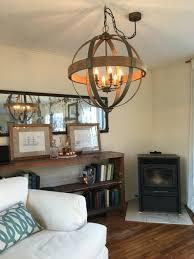 Full Size Of Chandeliersmodern Rustic Metal Chandelier Farmhouse Dining Room Lighting Hanging Pendant
