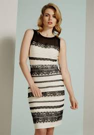 white and gold striped dress naf dresses