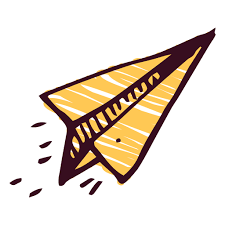 Paper Airplane Transparent PNG