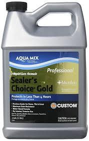 Tile Guard Grout Sealer Home Depot by Aqua Mix Sealer U0027s Choice Gold Gallon Tile Cleaners Amazon Com