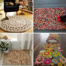 tapis a faire soi meme 12 astuces et idées originales pour réaliser une décoration maison