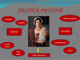 THE SCARLET LETTER HESTER PRYNNE ROUND CHARACTER