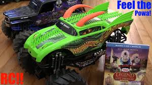 RC Toy Trucks: Monster Jam Truck Dragon RC Unboxing And Playtime + ... Custom Monster Jam Bodies Multi Player Model Toy L 343 124 Rc Truck Car Electric 25km Gizmo Toy Ibot Remote Control Off Road Racing Alive And Well Truck Stop Vaterra Halix Rtr Brushless 110 4wd Vtr003 Cars 2016 Year Of The Volcano S30 Scale Nitro 112 24g High Speed Original Wltoys L343 Brushed 2wd Everybodys Scalin For Weekend Trigger King Mud