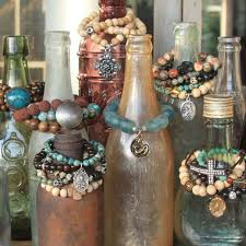 Old Bottles For Bracelets Giving Works Artisan Jewelry I Do This With Jewellery DisplaysBoutique DisplayDisplay Ideas