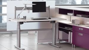 Office Max Stand Up Computer Desk by Series 5 Electric Office Table U0026 Workstation Steelcase
