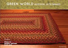 Green Jute Rug by Homespice Decor Green World Jute Braided Rugs