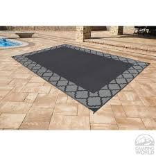 polypropylene patio mat 9 x 12 patio mat polypropylene trellis design 9 x12 black grey