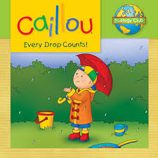 Caillou In The Bathtub by Books For Young People Las Virgenes Municipal Water District