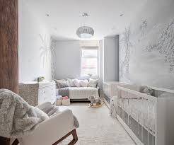 Safari Decorating Ideas For Living Room by Safari Mural In An Elegant Twin Girls U0027 Nursery Themed Nursery
