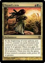 magic the gathering mayael s aria alara reborn magic https