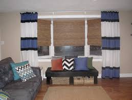 Living Room Curtain Ideas With Blinds by Interior Fair Living Room Interior Design With White Leather