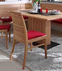massivholz stuhl kernbuche geölt polsterstuhl rot esszimmer