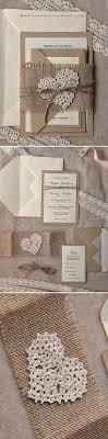 Rustic Wedding Invitation Handmade Ecopapers Countrywedding