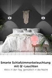 schlafzimmer ideen tipps für das richtige licht mit q smart