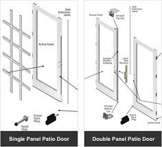 Andersen Outswing French Patio Doors by Parts U0026 Accessories Andersen 200 Series Hinged Patio Doors
