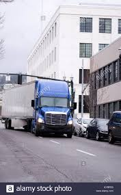 100 Aerodynamic Semi Truck A Blue Modern Semi Truck With High Roof To Reduce Air