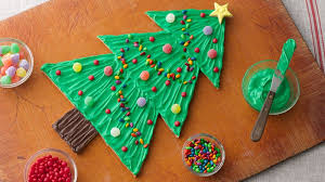 Giant Christmas Tree Cookie